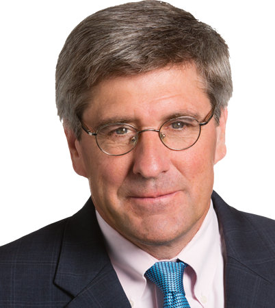Stephen Moore, a fellow at the Heritage Foundation